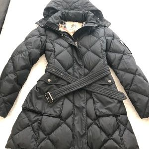 Burberry Long Puffer Coat